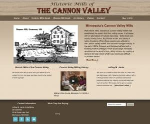 Cannon Valley Mills front page